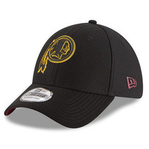 New Era Washington Redskins Black 2018 Training Camp 39THIRTY Flex Hat - $25.56