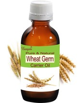 Wheat Germ Oil- Pure & Natural Carrier Oil - 15ml Triticum durum by Bangota - $9.47