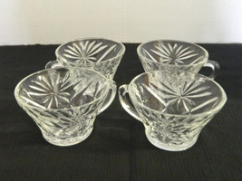 Prescut Oatmeal & Pineapple Four Punch Cups / Snack Cups Anchor Hocking ... - $14.73