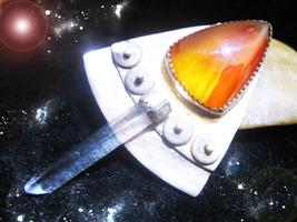 Haunted Crystal Necklace Ancients Power Of Regeneration Rare Secret Ooak Magick - $7,567.77