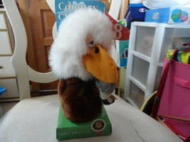 Vtg Country Clubbers Golf Club Cover Eagle Carousel plush funny - $35.00