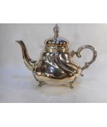 Eugen Ferner Sterling Tea Pot 925 Dated 1963 Original Patina - $985.05