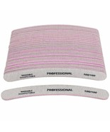 Nail Art Files UV Gel Acrylic Tips For Pedicure Manicure 100pcs Buffing ... - $40.95