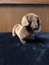 """The Bearington Collection """"Doxie"""" Dachshund Barking Dog Plush Stuffed An... - $10.05"""