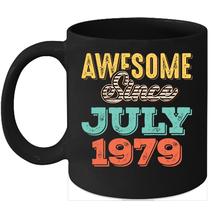 Awesome Since July 1979 Birthday 11oz Coffee Mug Gift Vintage Gifts - $15.95