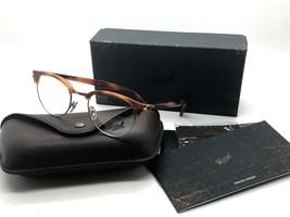 New! Persol Eyeglass Frame PO8129V 96 Terra Di Siena/Honey Brown 48mm - $116.37