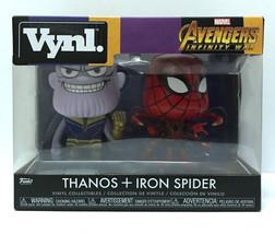 Funko Vynl Marvel Avengers Infinity War Thanos & Iron Spider Collectible... - $16.99