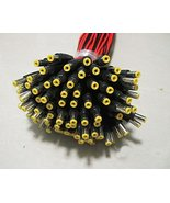 CCTV Security Camera DC Male Power Plug Pigtail Cable (50 Pack) - $25.50