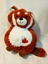 Walgreens Red Panda Plush Stuffed Animal Red Hearts No Arms - $24.73