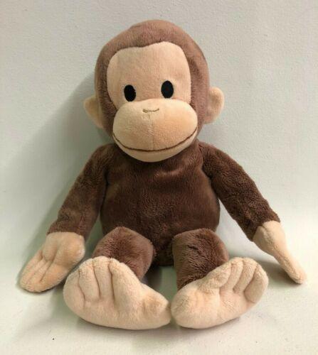 "Curious George Plush Monkey Kohls Cares 2013 Brown Tan 15"" Stuffed Animal Toy - $12.86"