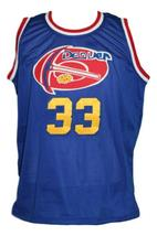 David Thompson #33 Denver Aba Retro Basketball Jersey New Sewn Blue Any Size image 3