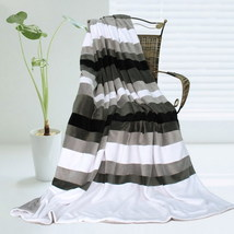 Onitiva - [Stripes - Simplicity] Patchwork Throw Blanket - $49.99