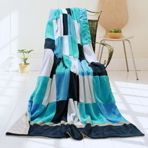 Onitiva - [Plaids - Coral Sea] Patchwork Throw Blanket - €42,13 EUR