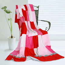 Onitiva - [Plaids - Hoodwinked] Patchwork Throw Blanket - $49.99
