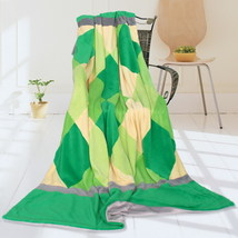 Onitiva - [Plaids - Grassland] Patchwork Throw Blanket - $49.99