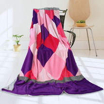 Onitiva - [Plaids - Sweet Days] Patchwork Throw Blanket - $49.99