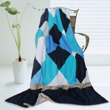 Onitiva - [Plaids - Bliss] Patchwork Throw Blanket - $49.99