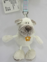 "NICI Dog Sharpei Pug Animal Plush Stuffed Toys Beanbag Key Chain Keyring 3"" - $12.50"