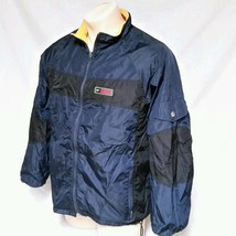 VTG Tommy Hilfiger Athletics Windreaker Jacket Coat 90's Reversible Flag... - $59.99