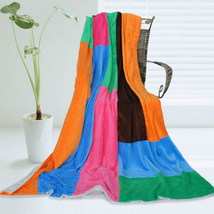 Onitiva - [Colorful Patchwork] Patchwork Throw Blanket - $49.99