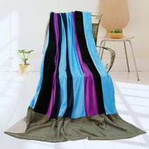 Onitiva - [Pattaya Beach] Patchwork Throw Blanket - $49.99