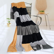 Onitiva - [Sleepless Seattle] Patchwork Throw Blanket - $49.99