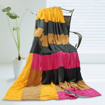 Onitiva - [Sweet Life] Patchwork Throw Blanket - $49.99