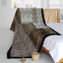 Onitiva - [Sex And The City] Animal Style Patchwork Blanket - $79.99