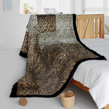 Onitiva - [Refined Taste] Animal Style Patchwork Blanket - $79.99