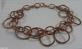 Copper Oval Link Bracelet - $16.95
