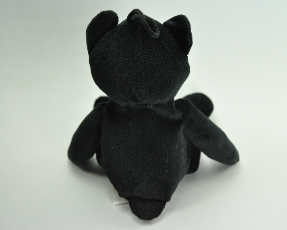 Kiddiefun Dublin I Love Ireland Black Beanie type Bear