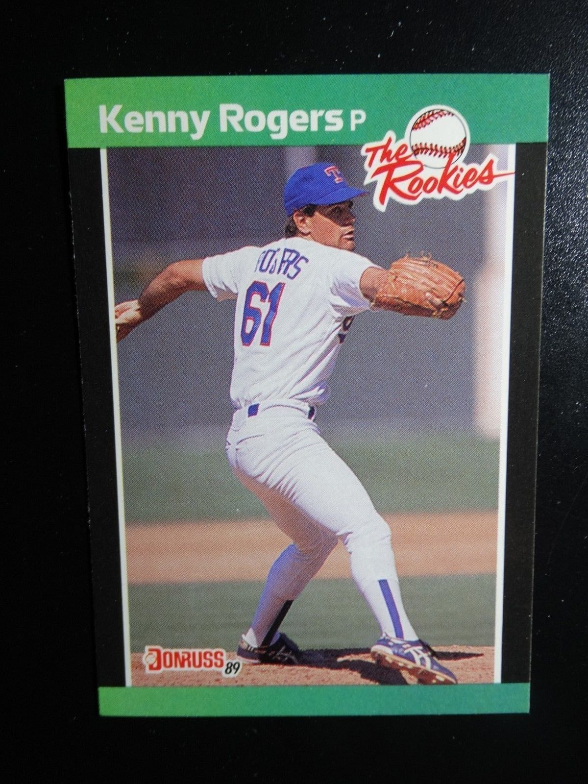 Primary image for 1989 Donruss Rookies #13 Kenny Rogers Texas Rangers Baseball RC Rookie Card