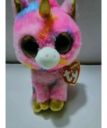 TY Beanie Boos Fantasia Pink Unicorn Plush  - $8.99