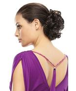 Funbun Curly Synthetic Hair Wrap Elastic Band Women's Hairpiece Chignon ... - $17.64