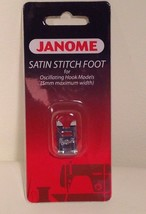 Satin Stitch foot by Janome- CLOSEOUT! Fits many makes and models! - $3.40