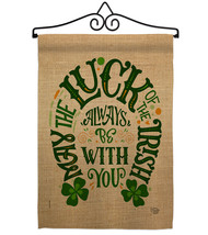 Luck Always With You - Impressions Decorative Metal Wall Hanger Garden F... - $27.97