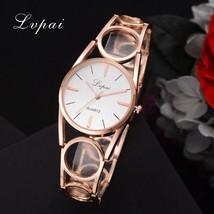 Lvpai® Fashion Creative Women Watch Designer Strap Stainless Steel Wristwatch - $6.25