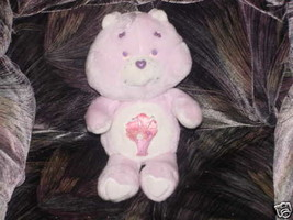 """13"""" Vintage Share Care Bear Plush Toy Kenner 1985 Mint - $24.74"""