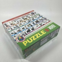 EuroGraphics Inventors and Their Inventions Jigsaw Puzzle 200 Piece - $17.72