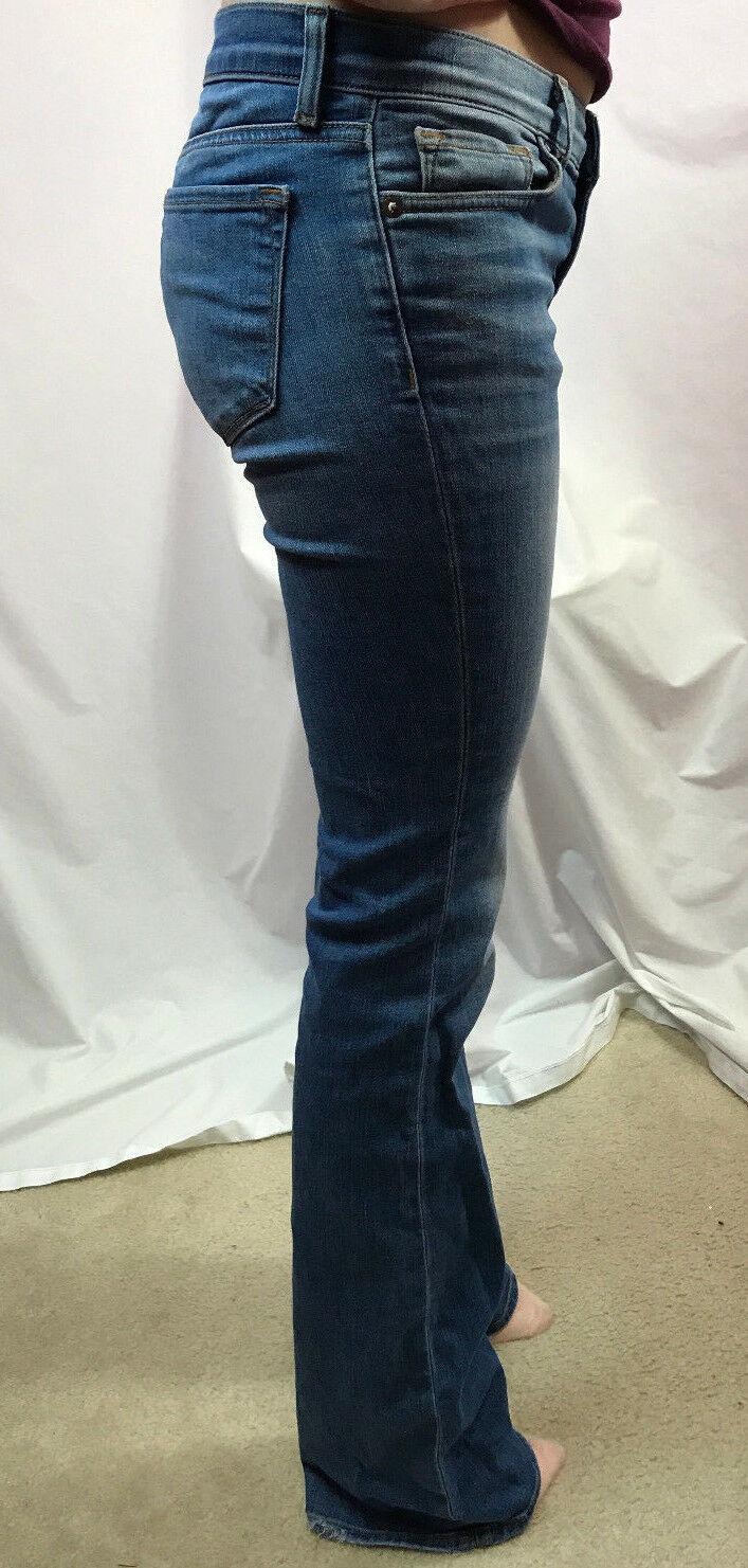 J Brand Bailey Americana Boot Cut Jeans, Light Wash, Womens Size 25 image 3