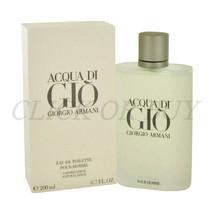 Acqua Di Gio Cologne By Giorgio Armani, Men's Eau De Toilette Spray (6.7 Fl.Oz) - $118.80