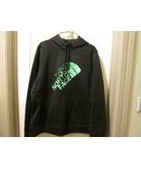 The North Face womens Half Dome Green Logo Zipper Hoodie Jacket 2XL - $44.00