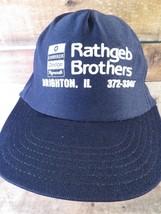 RATHGEB BROTHERS Brighton IL Chrysler Vintage Trucker Snapback Adult Cap... - $14.84