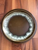 "Vintage Pfaltzgraff Pottery Gourmet Olive Drip Green 10"" Dinner Plate USA - $25.23"