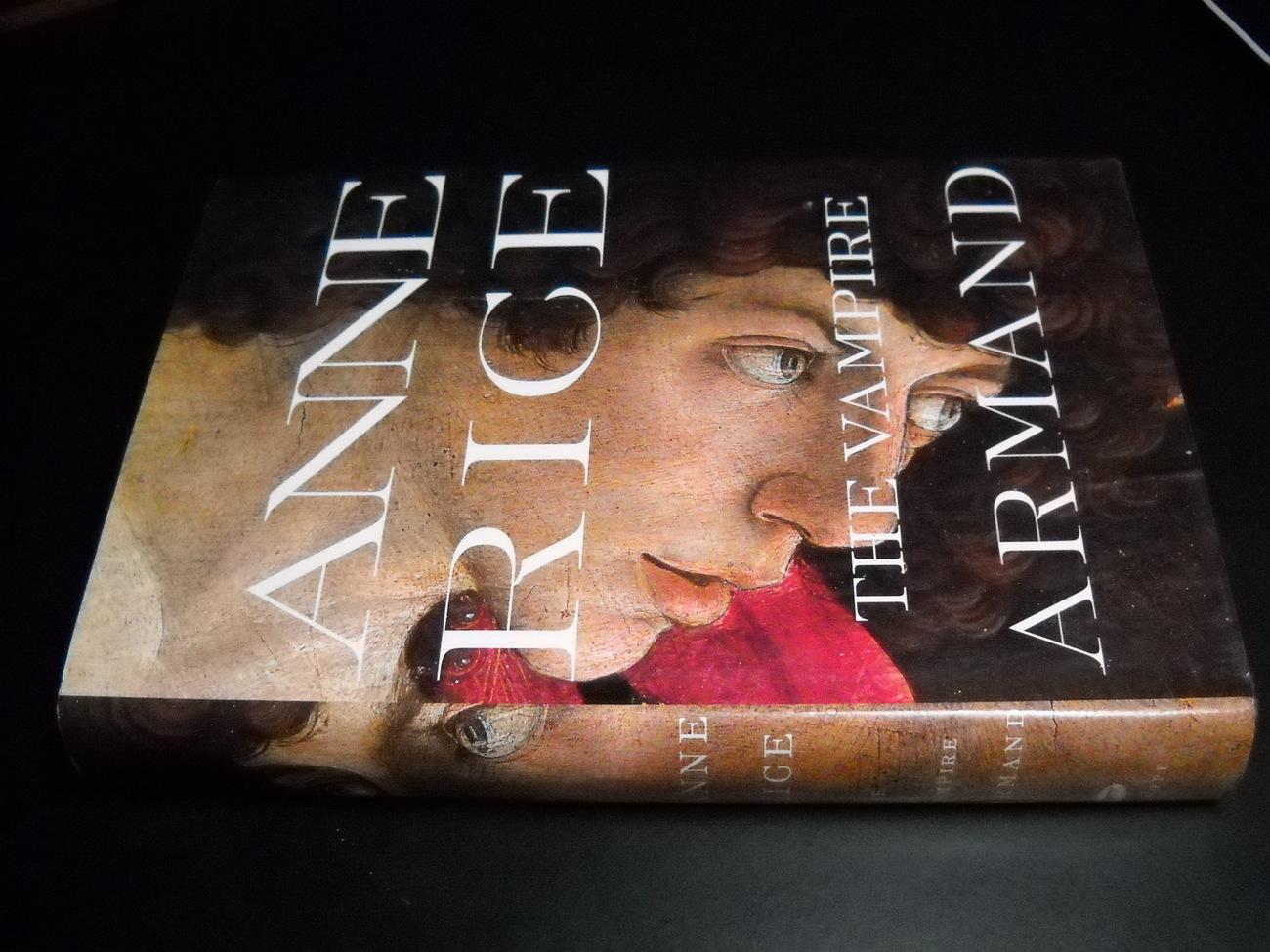 Book rice vampire armand 1st trade edition hcdj 01