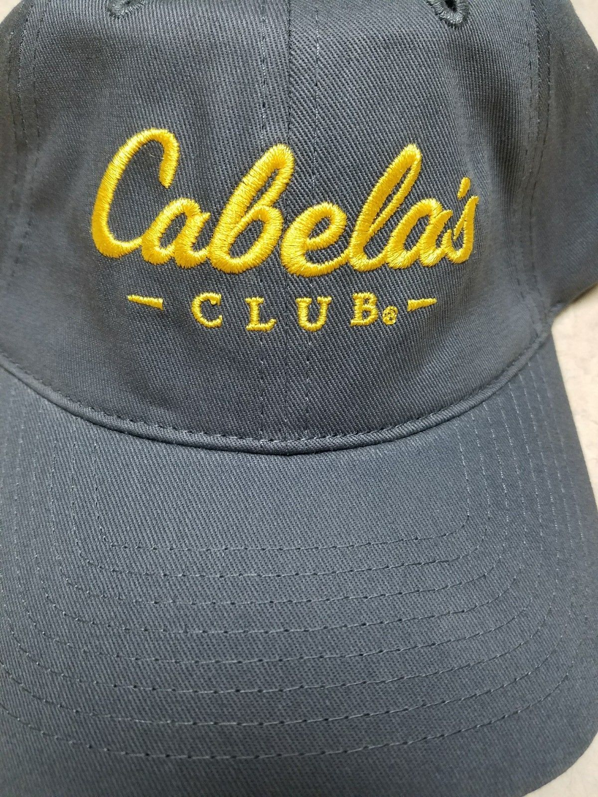 547385e57 Cabela's Club Baseball Cap Hat Gray and 50 similar items