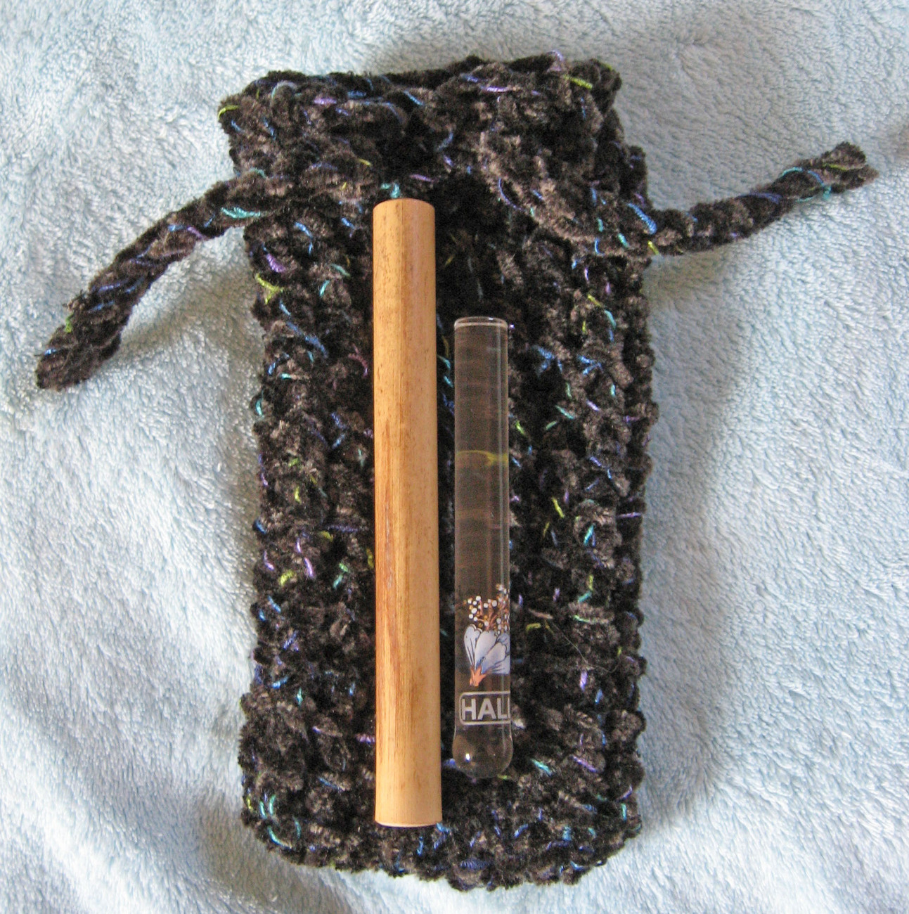 Mtn Dulcimer Noter Pouch/Charcoal/Handmade in USA/Pouch Only/No Noters Included