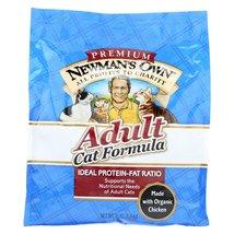 Newman's Own Organics Adult Cat Dry Formula - Case of 8 - 3 - $161.99+