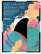 Queen Elizabeth 2 And Europe  1982 - $3.95
