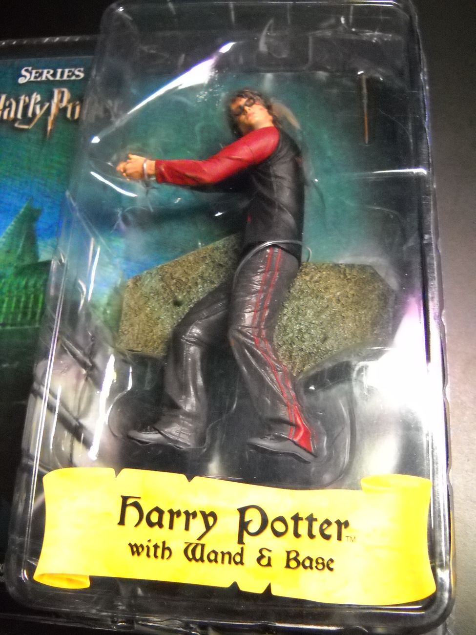 Harry Potter with Wand and Base Series One Reel Toys Neca Series Sealed on Card